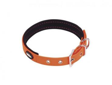 "Halsband ""Cover"" neon-orange, L: 35-45 cm, B: 20 mm"
