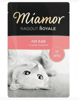 Miamor Pouch - Ragout Royale  - Kalb in Jelly (100 g)