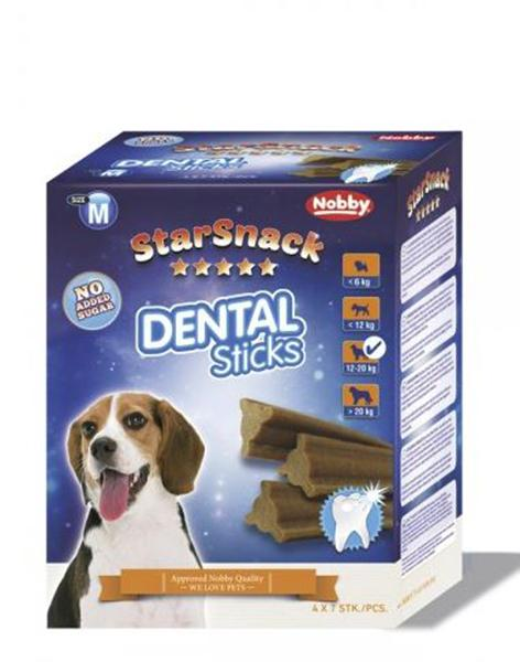 StarSnack Dental Sticks medium, 28 Stk. 560 g